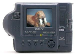 Sony MVC-FD92 Manual - camera rear side