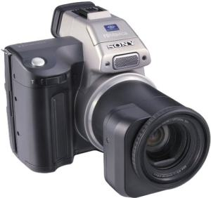 Sony MVC-FD97 Manual - camera front face