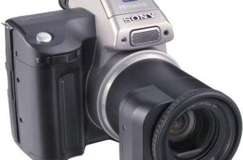 Sony MVC-FD97 Manual - camera front face