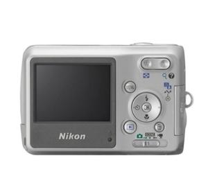 Nikon CoolPix L3 Manual - camera rear side
