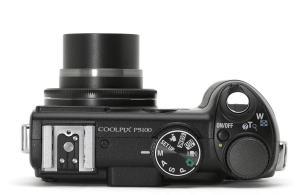 Nikon CoolPix P5100 Manual - camera top side