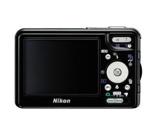 Nikon CoolPix S3 Manual - camera rear side