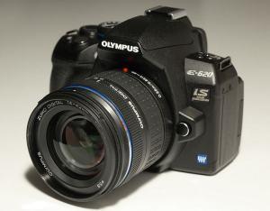 Olympus E-620 Manual - camera front face