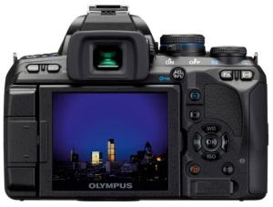 Olympus E-620 Manual - camera rear side