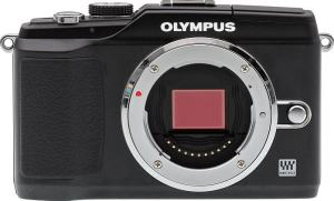 Olympus E-PL2 Manual - camera front face