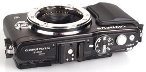 Olympus E-PL5 Manual - camera side