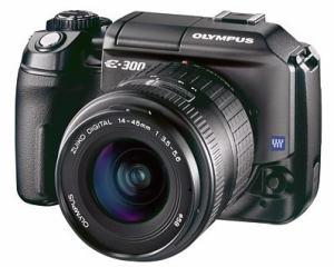 Olympus EVOLT E-300 Manual - camera front face