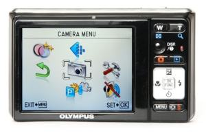 Olympus FE-5020 Manual - camera rear side