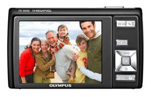 Olympus FE-5050 Manual - camera rear side