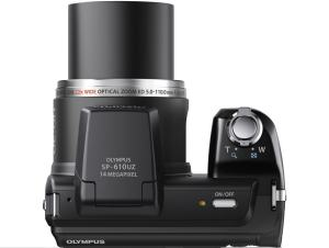 Olympus SP-610UZ Manual - camera top plate