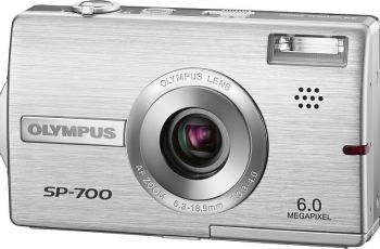 Olympus SP-700 Manual User Guide and Product Specification