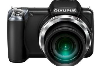 Olympus SP-810UZ Manual - camera front face