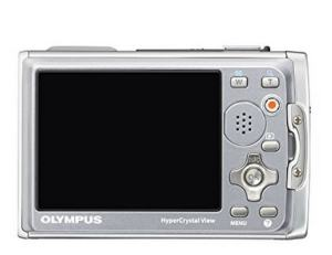 Olympus Stylus Tough-6020 Manual - camera rear side
