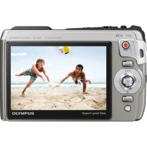 Olympus TG-820 iHS Manual - camera rear side