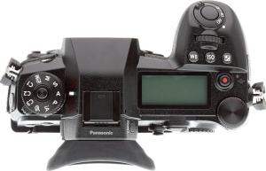 Panasonic Lumix G9; camera top plate