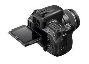 Sony DSLR-A500L Manual - camera rear side