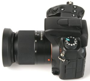 Sony DSLR A700H Manual - top side