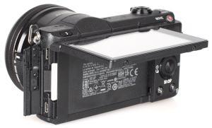 Sony ILCE 5100L Manual - camera rear side