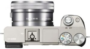 Sony ILCE A6000Y Manual - camera top plate