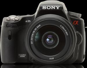 Sony SLT A-35 Manual - camera front face