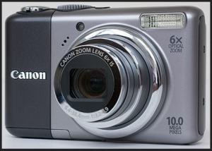 Canon PowerShot A2000 IS Manual User Guide and Product Specification