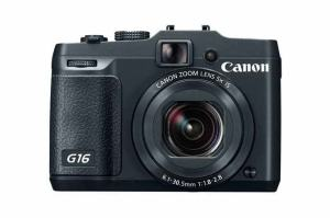 Canon PowerShot G16 Manual - camera front face