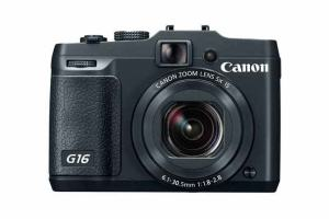 Canon PowerShot G16 Manual - camera front face