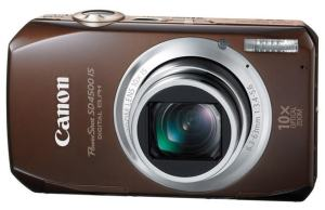 Canon PowerShot SD4500 IS Manual - camera front face
