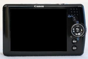 Canon PowerShot SD630 Manual - camera rear side