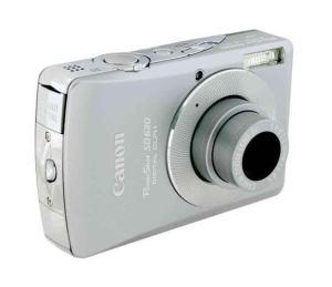 Canon PowerShot SD630 Manual - camera side
