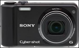 Sony DSC H70 Manual - camera front face