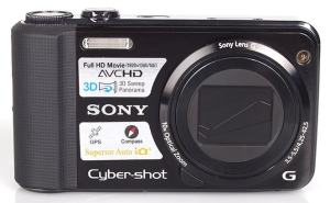 Sony DSC HX7V Manual - camera front face