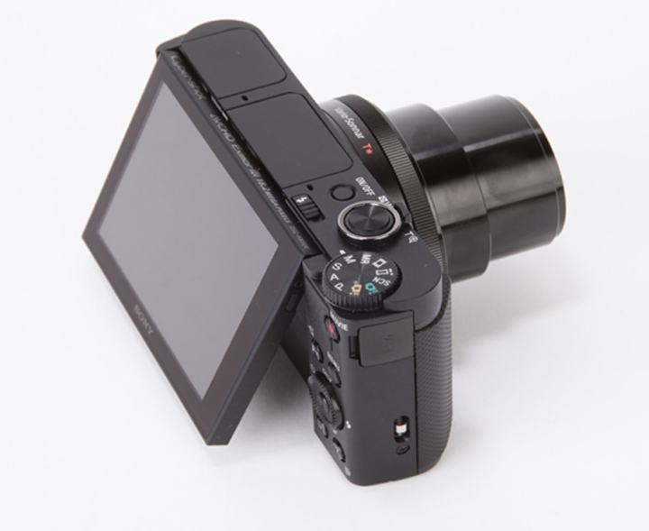 Sony DSC HX90V Manual - camera top side