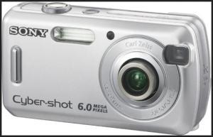 Sony DSC S600 Manual - camera front side