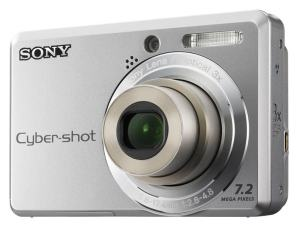 Sony DSC S730 Manual - camera front face