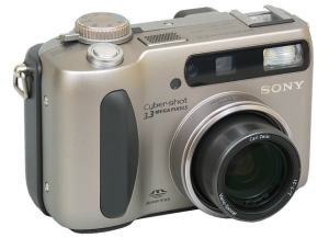 Sony DSC S75 Manual - camera front face