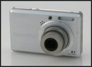 Sony DSC-S780 Manual - camera front face