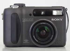 Sony DSC-S85 Manual - camera front face