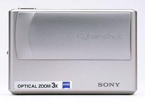 Sony DSC T1 Manual - camera front side