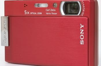 Sony DSC T100 Manual user Guide and Product Specification