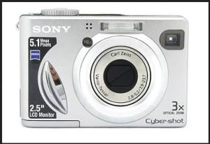 Sony DSC-W5 Manual User Guide and Product Specification