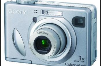 Sony DSC-W5 Manual - camera front face