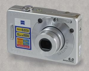 Sony DSC-W50 Manual - camera front face