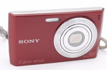 Sony DSC-W510 Manual - camera front face