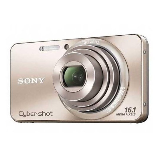 Sony DSC W570 Manual - camera front face