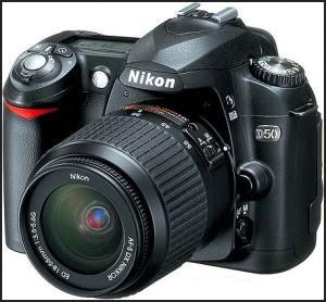 Nikon D50 Manual - camera front face
