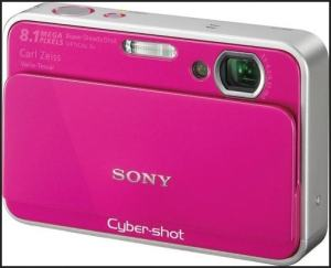 Sony DSC T2 Quick Manual - camera front side