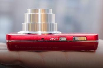 Sony DSC W650 Manual - camera side