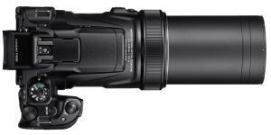 Nikon CoolPix P1000 - top plate