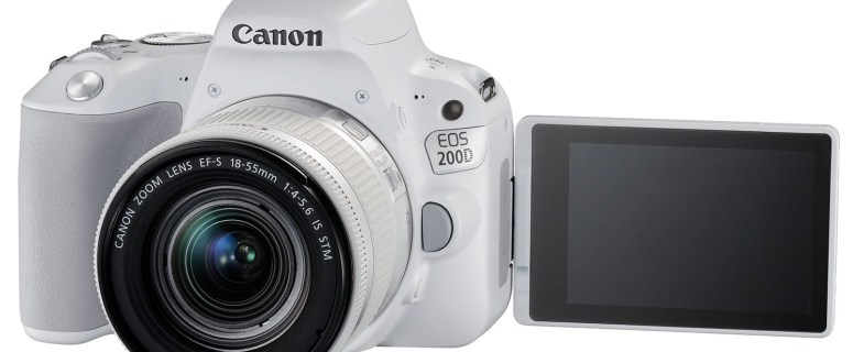 CANON EOS 200D: Compact and Simple DSLR for Begginers 7